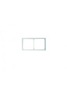 Frame, for 2 units, white